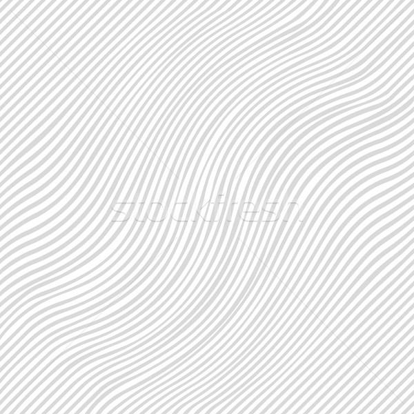 Stok fotoğraf: çizgili · doku · vektör · beyaz · gri
