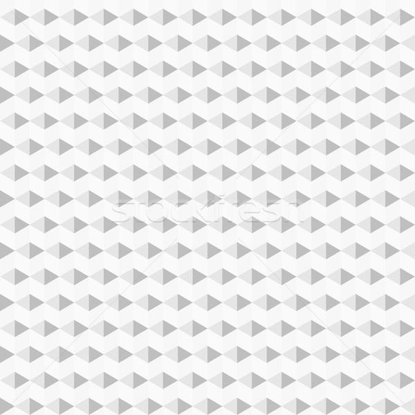 Сток-фото: геометрический · вектора · бесшовный · белый · серый · текстуры