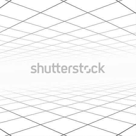 Abstract perspectief witte exemplaar ruimte technologie web Stockfoto © ExpressVectors