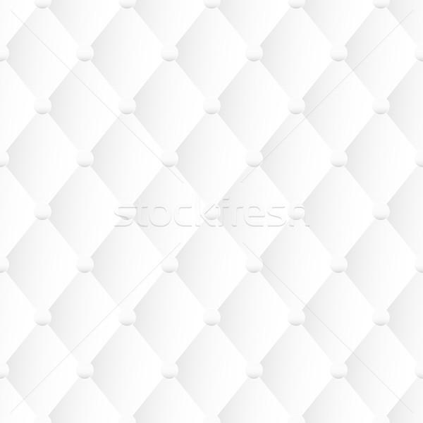 Biały tekstury bezszwowy wektora tapicerka dekoracyjny Zdjęcia stock © ExpressVectors