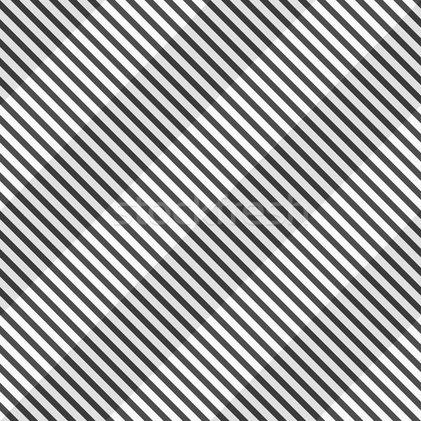 Disegno geometrico senza soluzione di continuità bianco nero 3D texture carta Foto d'archivio © ExpressVectors