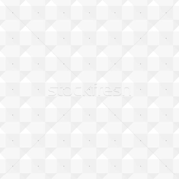 Stok fotoğraf: Beyaz · doku · geometrik · vektör · duvar