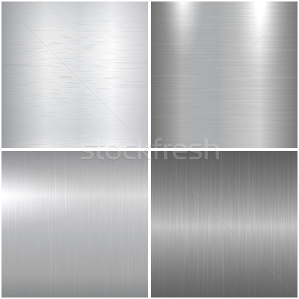 Metal polished textures. Stock photo © ExpressVectors
