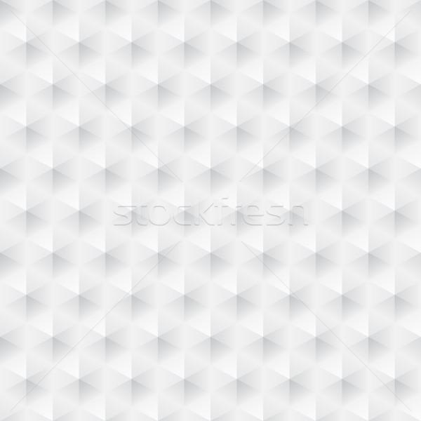 Fehér textúra végtelenített absztrakt mértani vektor Stock fotó © ExpressVectors
