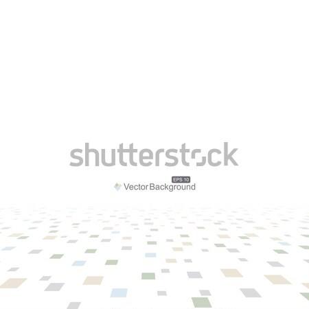 Resumen digital perspectiva luz diseno tecnología Foto stock © ExpressVectors