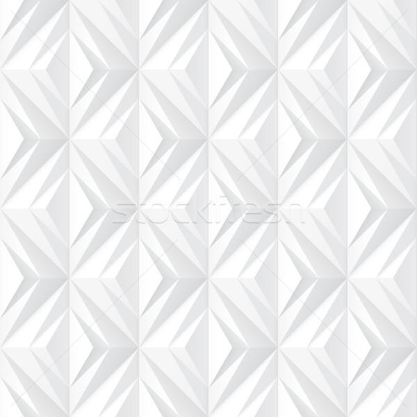 Decorative white texture - seamless. Stock photo © ExpressVectors