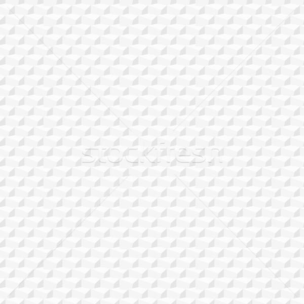 Disegno geometrico senza soluzione di continuità bianco texture interni pattern Foto d'archivio © ExpressVectors
