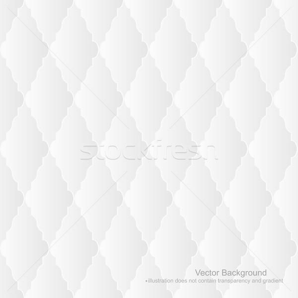 Fehér kárpit végtelenített nem gradiens átláthatóság Stock fotó © ExpressVectors