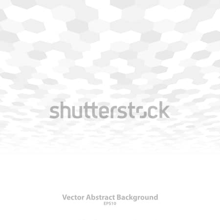 Absztrakt fehér formák fal fény terv Stock fotó © ExpressVectors