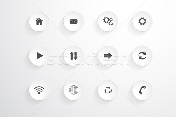 Vector Icons set. Stock photo © ExpressVectors