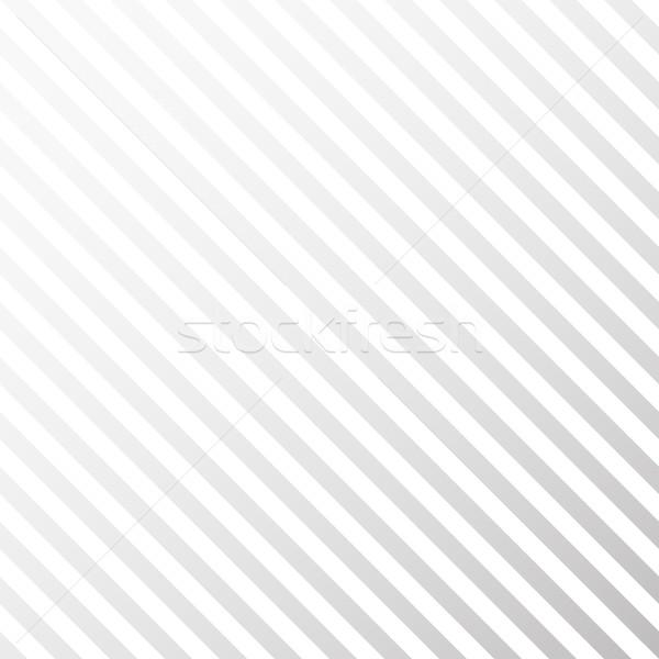 Photo stock: Lumière · rayé · blanche · gris · texture · diagonal