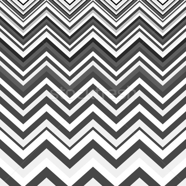 Geométrico zigzag patrón sin costura a rayas Foto stock © ExpressVectors