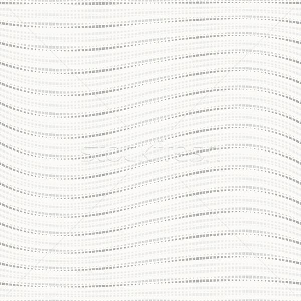 Pointillé ondulés eps10 texture tissu Photo stock © ExpressVectors