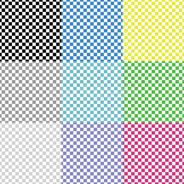 Multicolored squared patterns Stock photo © ExpressVectors