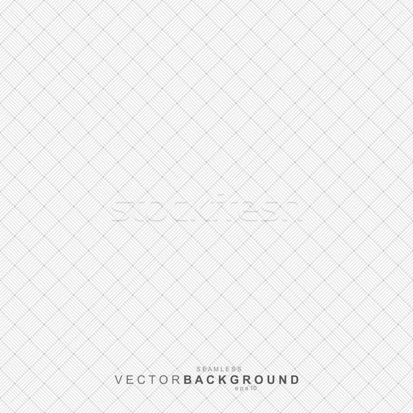 White geometric texture, seamless. Stock photo © ExpressVectors