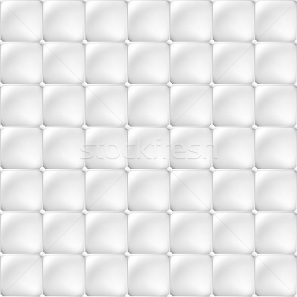 White soft upholstery texture - seamless. Stock photo © ExpressVectors