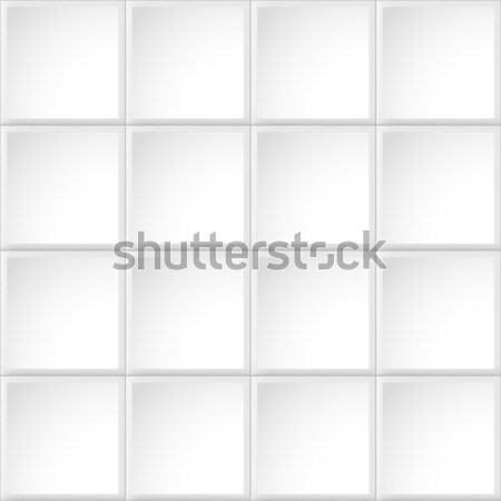 タイル 白 テクスチャ ベクトル タイル張りの シームレス ストックフォト © ExpressVectors