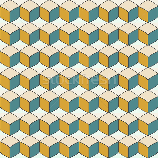 Vector geometric endless pattern. Stock photo © ExpressVectors