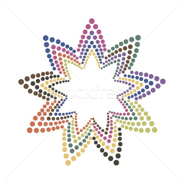 Résumé coloré couleur fleur texture Photo stock © ExpressVectors