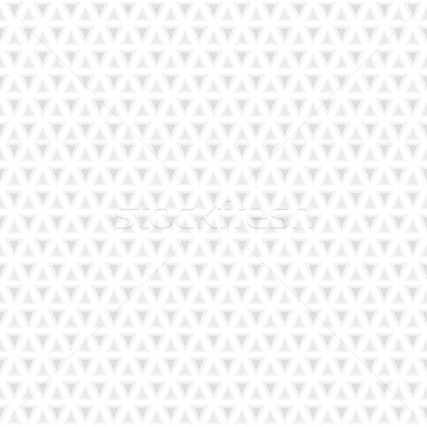 Mértani végtelen minta fehér szürke textúra üzlet Stock fotó © ExpressVectors