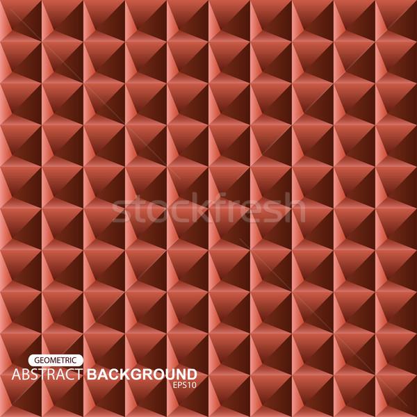 Abstract background. Gometric 3d texture Stock photo © ExpressVectors