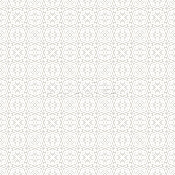 ősi díszítő minta végtelenített vektor fal Stock fotó © ExpressVectors