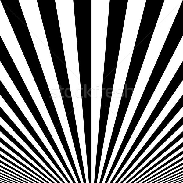 çizgili poster siyah beyaz doku soyut basit Stok fotoğraf © ExpressVectors