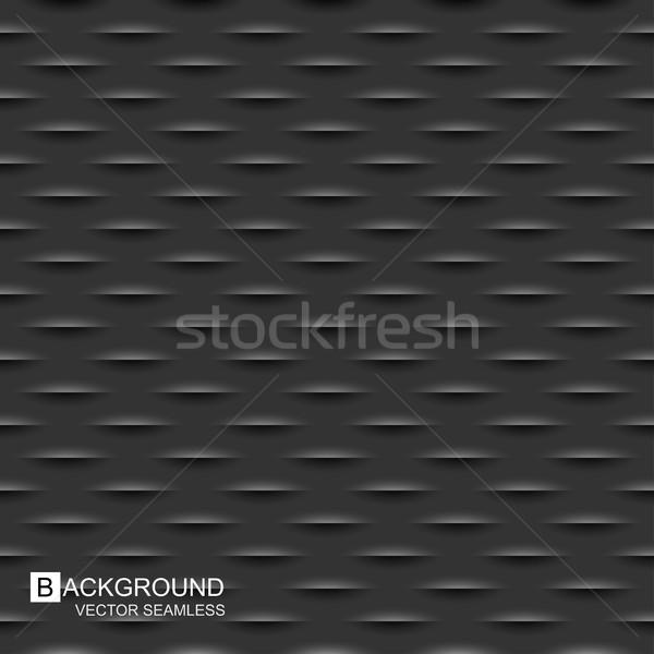 Buio texture senza soluzione di continuità vettore carbonio sfondo Foto d'archivio © ExpressVectors