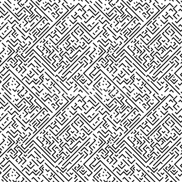 Geometrica bianco nero strisce ripetibile texture Foto d'archivio © ExpressVectors