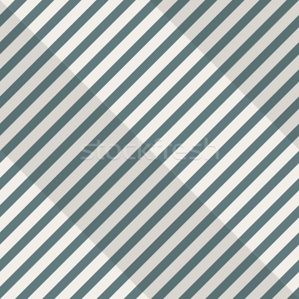 Retro bezszwowy geometryczny wzór przekątna tekstury Zdjęcia stock © ExpressVectors