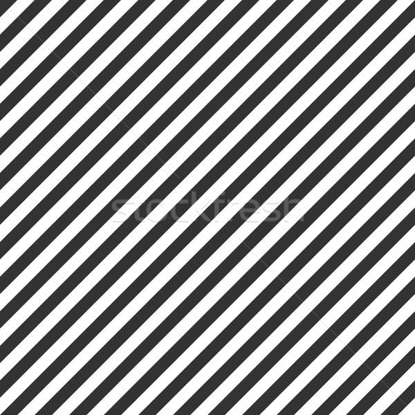 Foto d'archivio: Strisce · pattern · senza · soluzione · di · continuità · bianco · nero · texture · muro