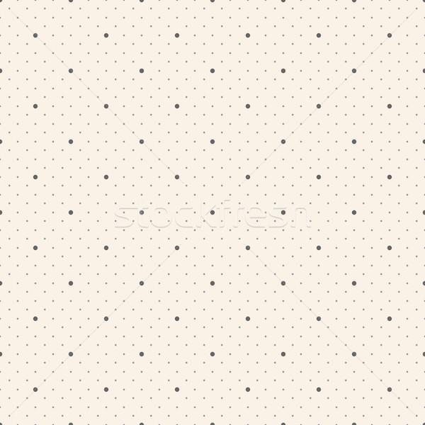 Végtelenített pötty minta vektor terv papír Stock fotó © ExpressVectors