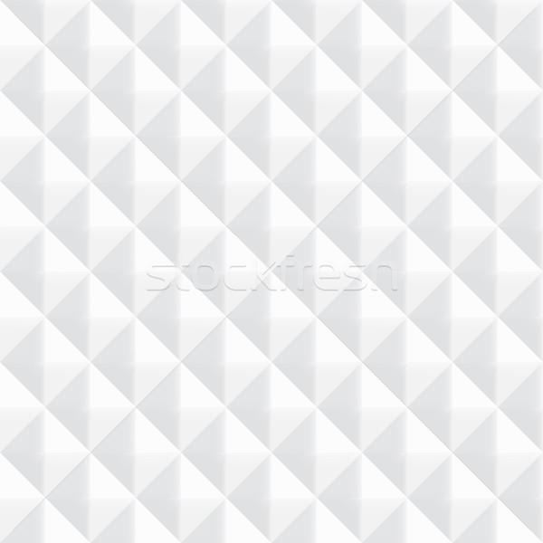 Stok fotoğraf: Beyaz · doku · vektör · geometrik · kâğıt
