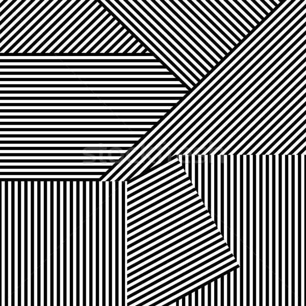 Сток-фото: бесшовный · полосатый · вектора · Creative · шаблон · дизайна