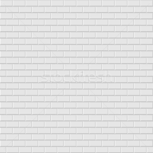 Brick wall texture - seamless. Stock photo © ExpressVectors