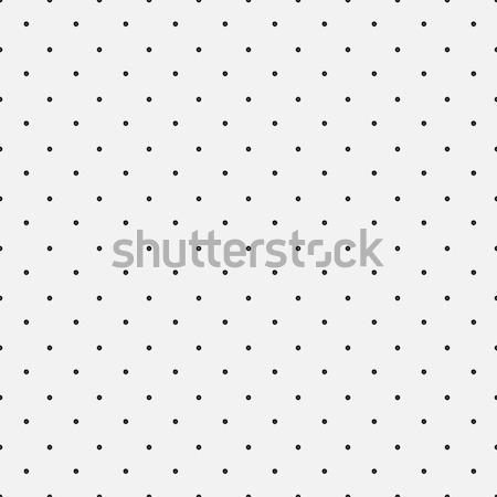 Simple dot pattern, seamless vector background Stock photo © ExpressVectors