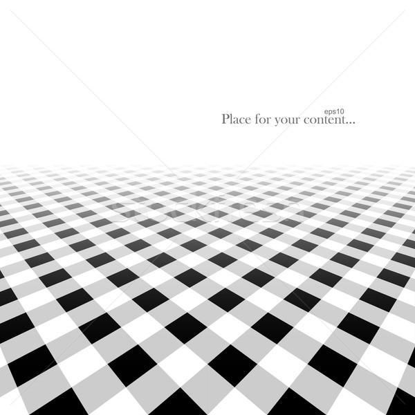 Soyut perspektif çizgili yüzey eps10 iş Stok fotoğraf © ExpressVectors