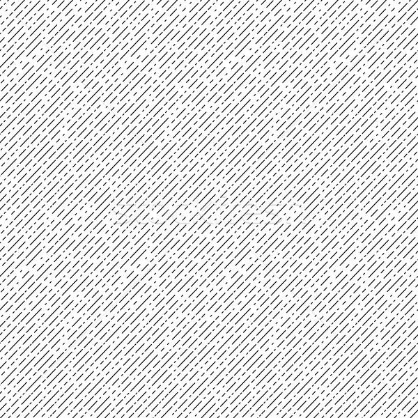 Geometrica diagonale bianco nero strisce ripetibile Foto d'archivio © ExpressVectors