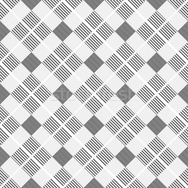 Strisce disegno geometrico senza soluzione di continuità vettore arte tessuto Foto d'archivio © ExpressVectors