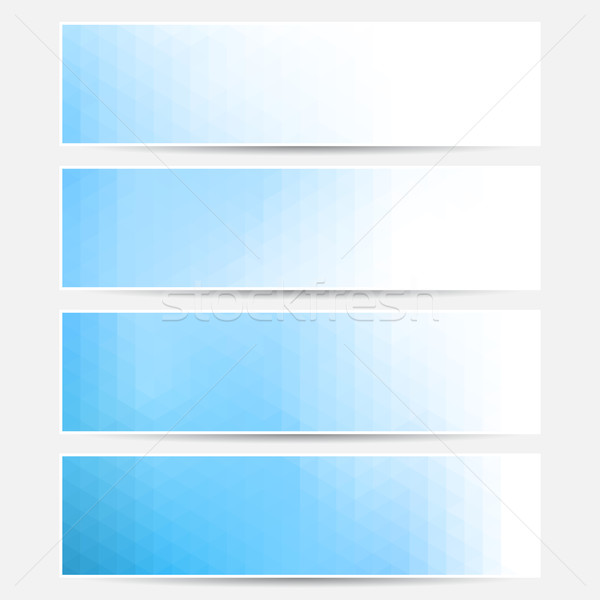 Vector banner set. Stock photo © ExpressVectors