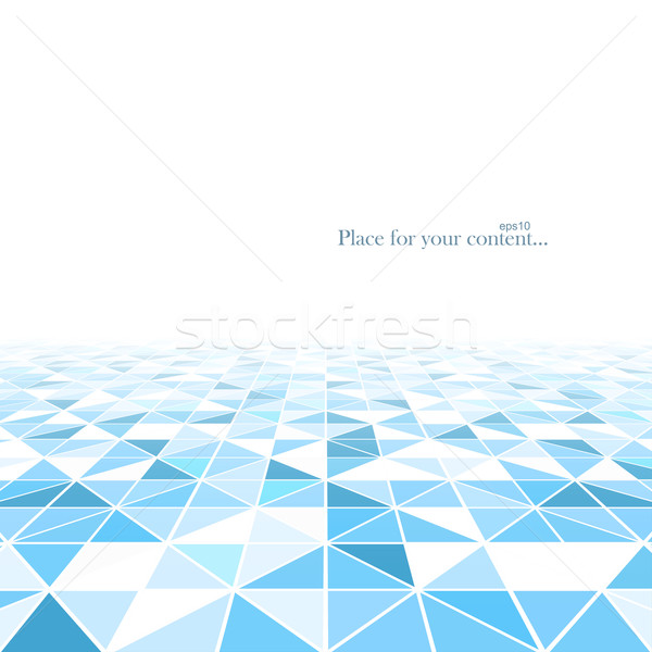Geometric abstract background with a perspective.  Stock photo © ExpressVectors