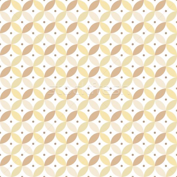 бесшовный геометрическим рисунком декоративный вектора бумаги моде Сток-фото © ExpressVectors