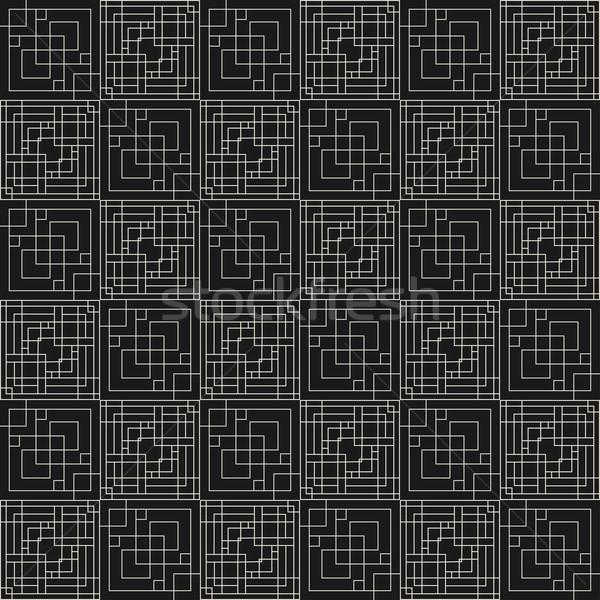 Vector geometrisch patroon naadloos luxe kunst Stockfoto © ExpressVectors
