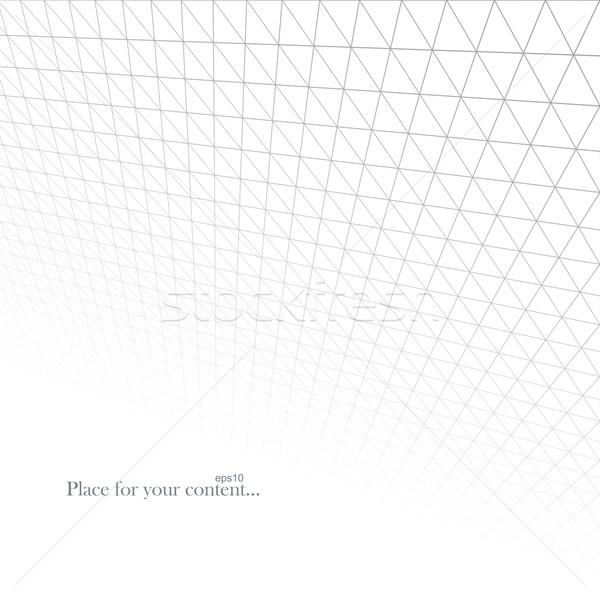 Abstrato luz grade geométrico infinito textura Foto stock © ExpressVectors