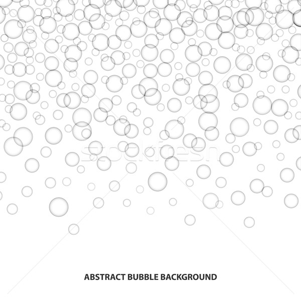 Abstract bubble background. Stock photo © ExpressVectors
