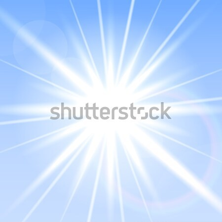 Vector flash light. Stock photo © ExpressVectors