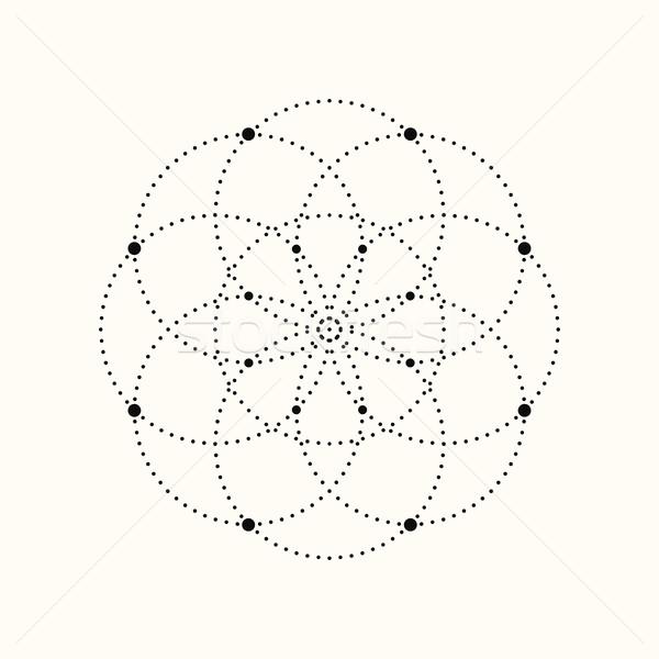 商业照片: 向量 · 虚线 · 几何 · 设计元素 · eps10
