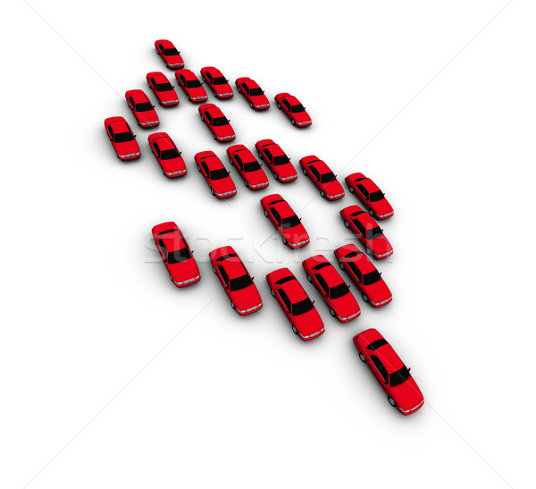 Cars Making Dollar Symbol Stock photo © eyeidea