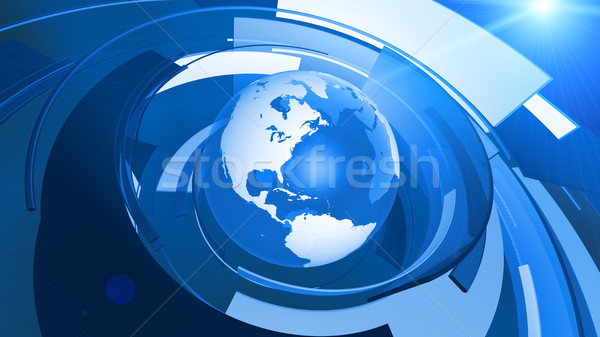 Mundo globo gráfico conexão alto Foto stock © eyeidea