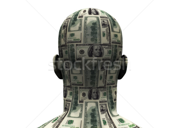 Head Made of Money Stock photo © eyeidea